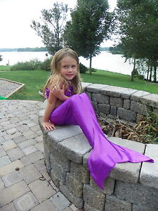 Custom-Boutique-Mystical-Mermaid-Tail-in-Purple-or-Emerald-Toddler-Girls-sz-SML