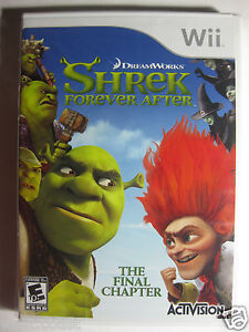 Shrek Forever After Wii  2010  The Final Chapter ! Sealed & New ! Ship Worldwide