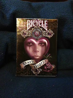 Bicycle Anne Stokes II Fantasy Art Dark Hearts Playing Cards Deck  New sealed!