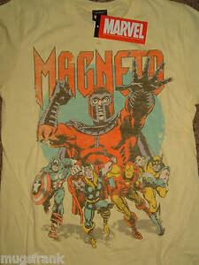 X-Men-Magneto-Wolverine-Thor-Captain-America-Neat-Mag-Marvel-Comics-T-Shirt