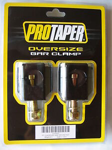 Pro Taper ProTaper Rubber Mount Kit Fat Bar Clamps 1-1/8