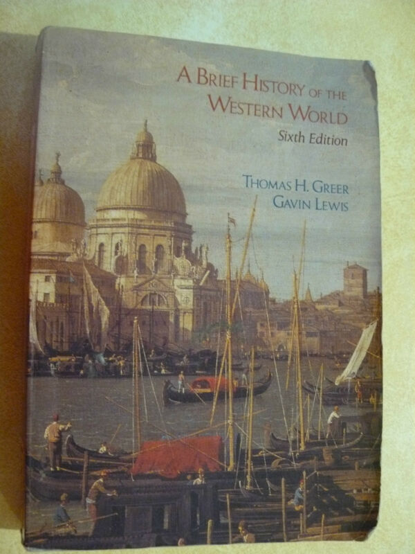 A Brief History of the Western World by Gavin Lewis/Thomas H Greer REDUCE! $5