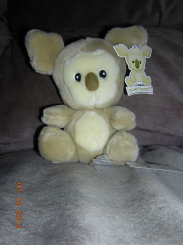 "Neopets 6"" Brown Harris w/tags (2002)"