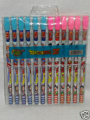 NEW IN PACKAGE SET OF 12 DRAGONBALL Z PENCILS  on Rummage