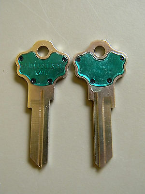 Kwikset Titan Kw10 Key Blanks(2) Green By Hillman