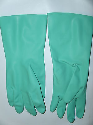 Industrial Latex Rubber Gloves Lady Large Men Medium