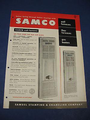 SAMCO Catalog ROPER SAMUEL STAMPING ENAMELING ASBESTOS