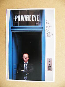 IAN-HISLOP-HAND-SIGNED-AUTOGRAPH-OFFICIAL-CARD-PRIVATE-EYE-HAVE-I-GOT-NEWS-COA