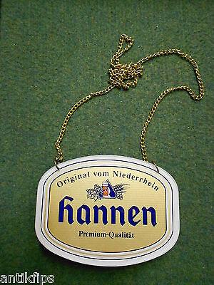 Hannen Premium Qualität Zapfhahnschild 215