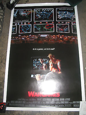 WARGAMES / ORIGINAL U.S. ONE-SHEET MOVIE POSTER (MATTHEW BRODERICK) on Rummage