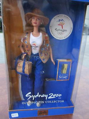Mattel Barbie Doll - Sydney 2000 Olympic Pin Collector 25644 (10&10r)
