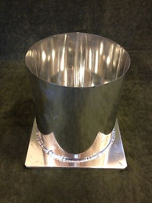6 X 6 1/2 Round Pillar Metal Candle Mold