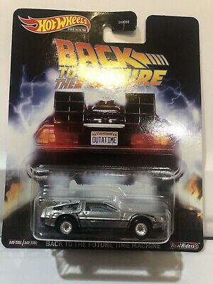 Hot Wheels 2020 Retro Entertainment Back to The Future Time Machine Real Riders!