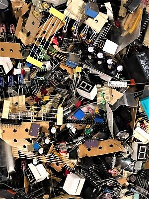 Lot Sale 1 Lb Quality Grab Bag Of All Unused Electronic Parts Components Diy