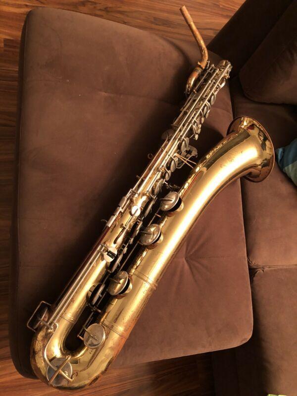 Selmer USA Signet Low A Baritone Saxophone Huge Sound