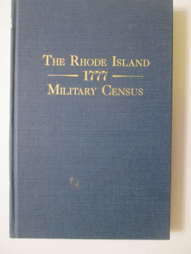 Genealogy - The Rhode Island 1777 Military Census