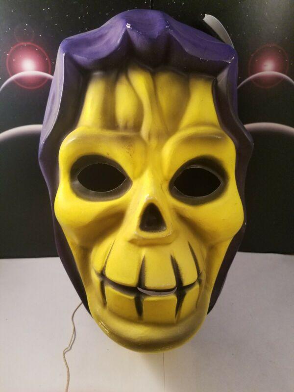 HALLOWEEN Vintage Ben Cooper Mattel Masters of the Universe He-Man SKELETOR Mask