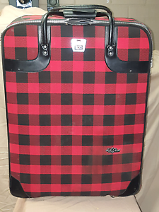 Retro checkered suitcase Nowra Nowra-Bomaderry Preview
