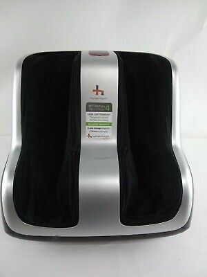 Human Touch HT-Reflex4 Under Foot Massage and Calf Shiatsu Massager Black/Silver