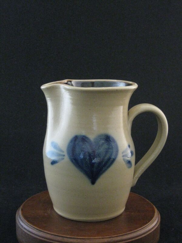 "Conner Prairie Stoneware Pottery 5.25"" Pitcher 1999"