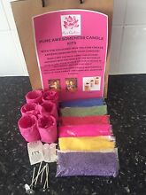 PURE AWESOMENESS RAINBOW CANDLE MAKING KITS FOR KIDZ Moonah Glenorchy Area Preview