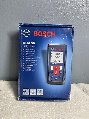 Bosch 165ft 50m Laser Digital Distance Measurer Glm 50 Professional