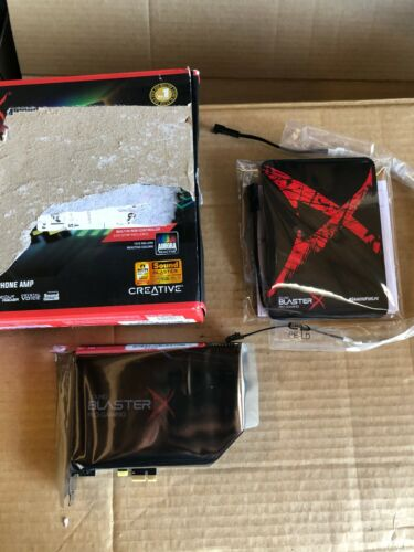 CREATIVE SOUND BLASTER PRO GAMING PCIe DAC WITH DISCRETE HEADPHONE AMP SB1740