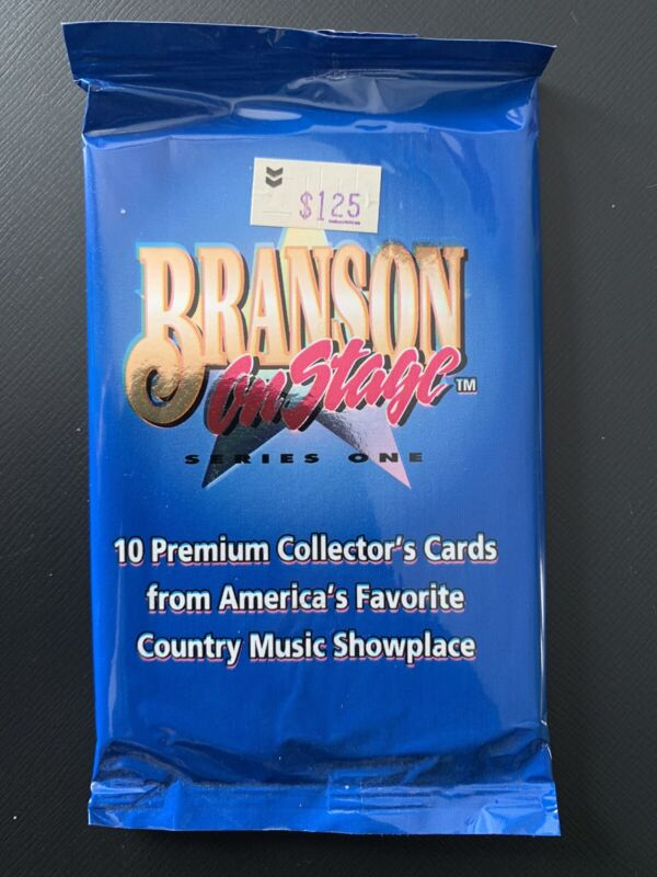 15 1992 Branson On Stage Series 1 Unopened Packs 10 Cards Per Pack