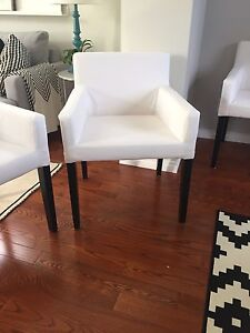 2 IKEA Nils dining chairs