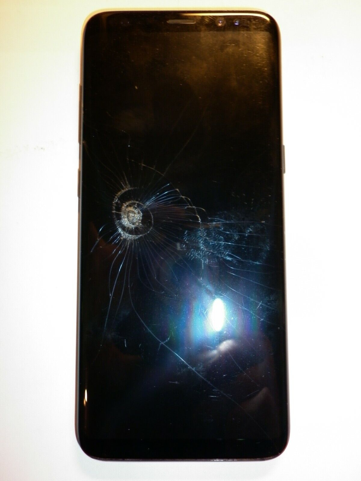 Android Phone - SAMSUNG GALAXY S8 64GB SMART PHONE CRACKED SCREEN