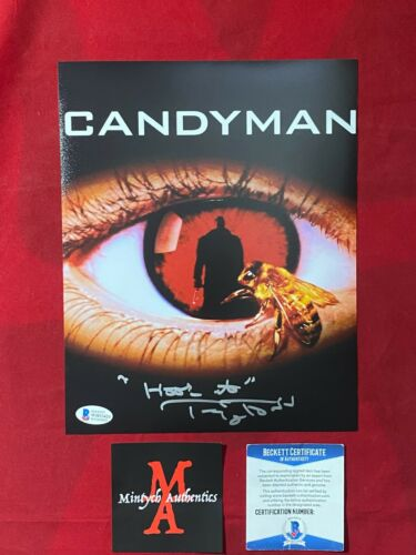 TONY TODD AUTOGRAPHED SIGNED 8x10 PHOTO! CANDYMAN! BECKETT COA! HORROR!