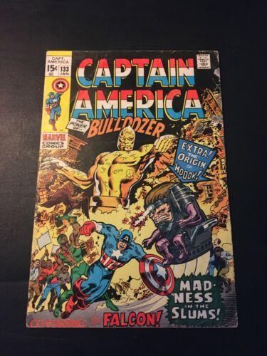 CAPTAIN AMERICA #133 1971 MARVEL ORIGIN OF MODOK VG-