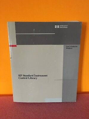 Hp Agilent E2094-90036 Standard Instrument Control Library Guide For Windows