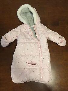 Infant snowsuit (0-6 mos)