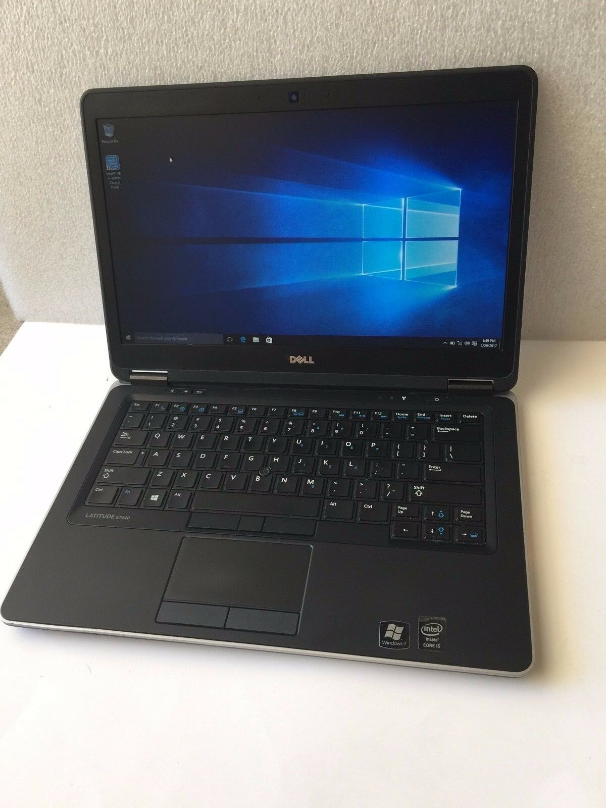 Dell Ultrabook E7440 Core i5-4300u 1.9GHz 8GB 500GB Webcam Backlit Win 7 Laptop