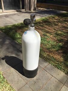 Faber Scuba Tank  - Steel Cylinder - 232 bar - 5 litre - DIN/K Valve Fairview Park Tea Tree Gully Area Preview