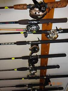 FISHING RODS FROM $5.SPIN REELS FROM $20.ALVEYS FROM $10 Wynnum Brisbane South East Preview