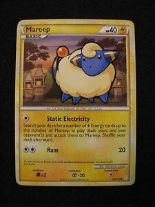 POKEMON-CARD-Mareep-40HP-73-123