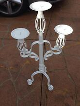 White candle holder Casula Liverpool Area Preview