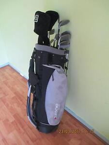 SET OZONE GOLF CLUBS AND BAG Gosnells Gosnells Area Preview