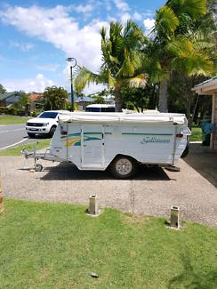 goldstream pop up caravan