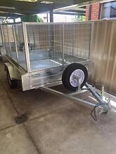 New 7x5 Trailer 900mm High Cage Fully Galvanised with Rego paid Pascoe Vale Moreland Area Preview