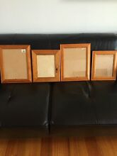 Timber Picture Frames x4 All in excellent Condition Ballarat North Ballarat City Preview
