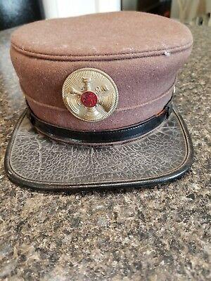 Vintage Antique Asst. Chief Fireman's Dress Hat   (Fireman Dress)