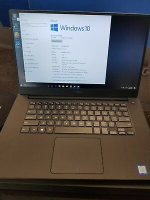 Dell Mobile Precision 5520 I7 7th gen 16gb 256 ssd