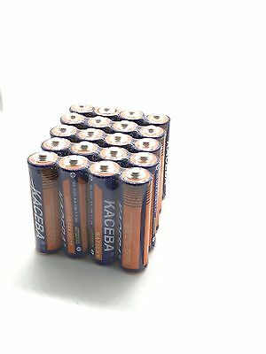 20 Pack AA Batteries Extra Heavy Duty 1.5v. Wholesale Lot New Fresh