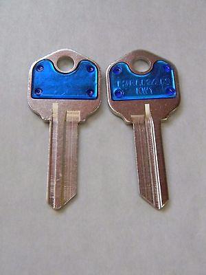 Kwikset Kw1 Key Blanks2 Blue By Hillman