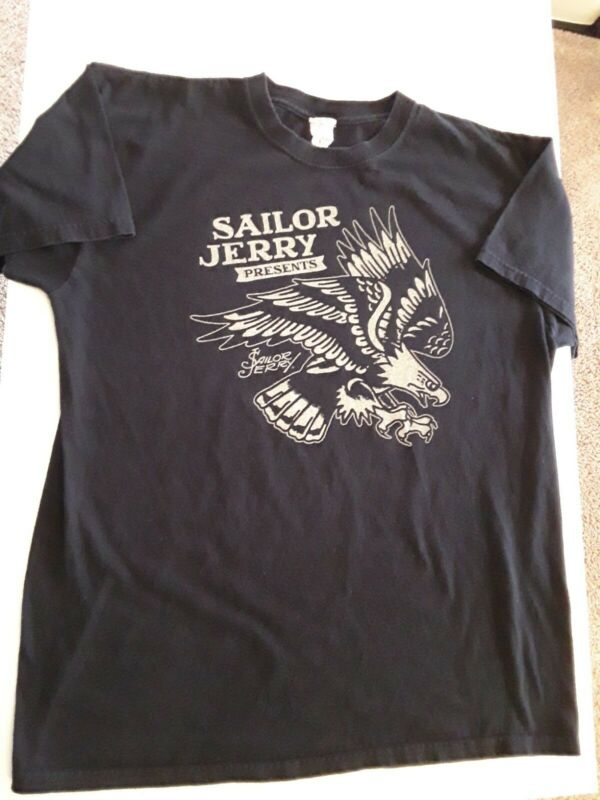 SAILOR JERRY Spiced Rum Large Tee Shirt