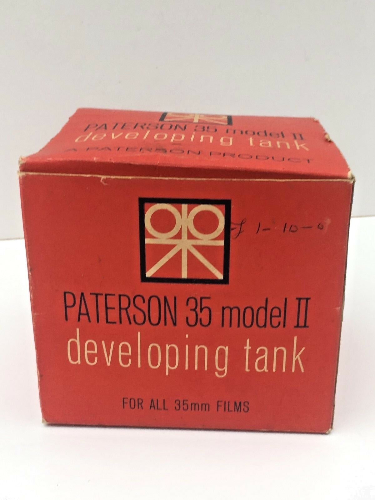 Paterson Model II Vintage 35mm Film Developing Tank Boxed