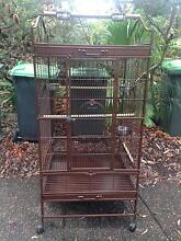 Large Bird Cage - Play top cage for parrot/birds Oatley Hurstville Area Preview